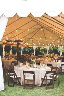 backyard wedding tent 15 sophisticated wedding reception ideas oh best day