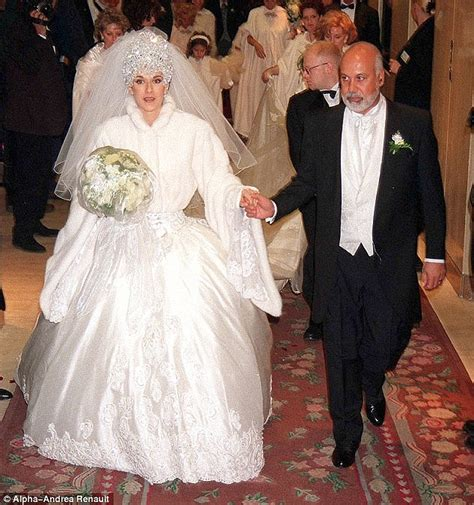 celine dion biography marriage as kim sears wedding dress splits public opinion femail