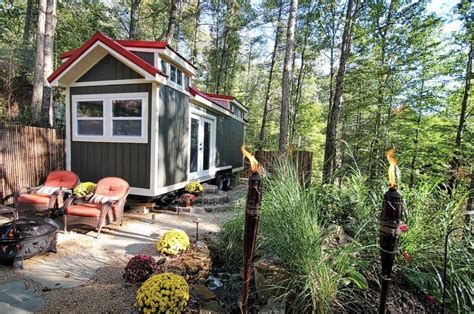 Luxury Tiny House For Sale on 2.5 Acres near Asheville, NC