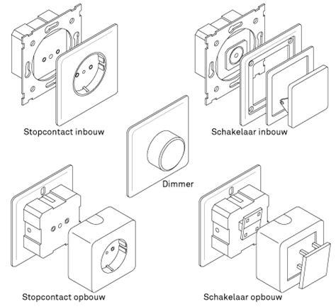 welke buisventilator badkamer stopcontacten schakelaars en dimmers aanleggen karwei