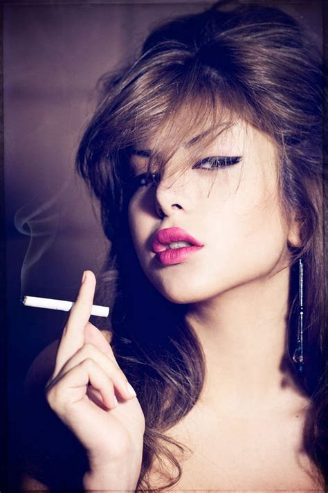 beautiful girls smoking cigarettes and smokers
