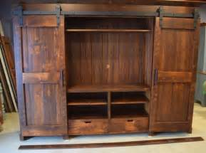 barn door tv stand plans barn door entertainment cabinets farmhouse