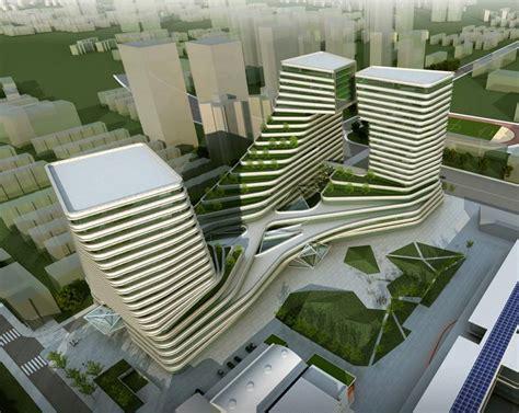 design concept international shanghai international design center by am progetti and tjad
