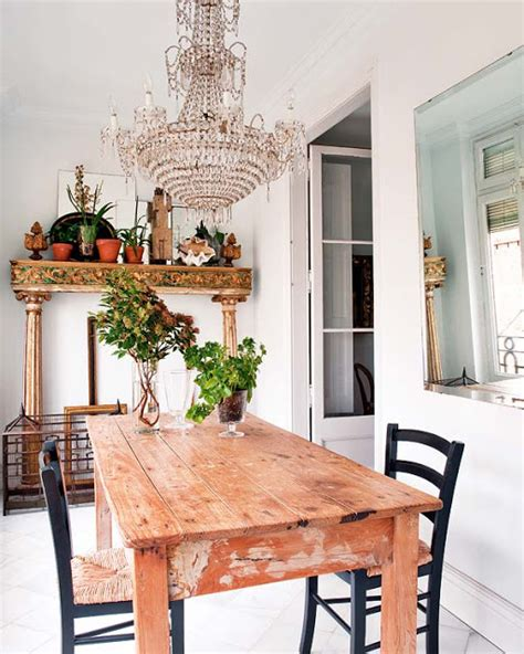 chandelier over table large chandelier over farm dining table home decorating