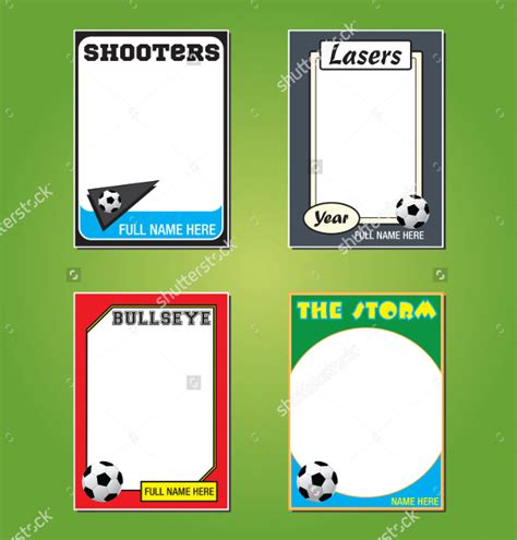 baseball trading card template free 28 images of soccer player report card template