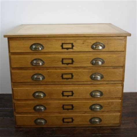 oak drawer handles uk vintage small oak plan chest with brass cup handles and