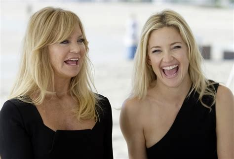 goldie hawn hudson goldie hawn and kate hudson the talented mother daughter