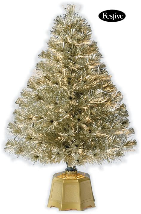 galaxy fibre optic christmas tree gold 3ft 0 9m 163 39
