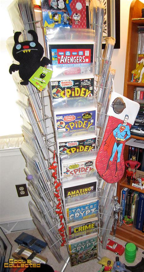 Comic Book Rack by Vintage Comic Books Images