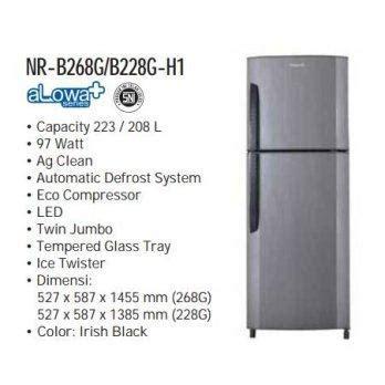 Lemari Es 1 Pintu Panasonic Alowa page 220 daftar harga lemari es termurah dan terbaru