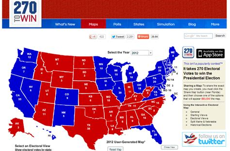us election 2012 interactive map 2016 presidential election interactive map and history of