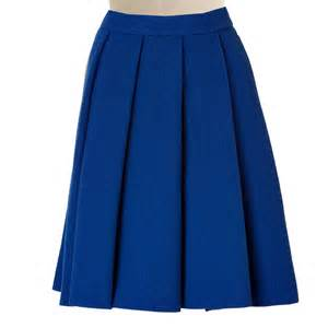 royal blue pleated skirt elizabeth s custom skirts
