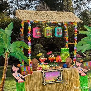 Backyard Wedding Checklist Raffia Tiki Bar Idea Luau Raffia Decorating Ideas Luau