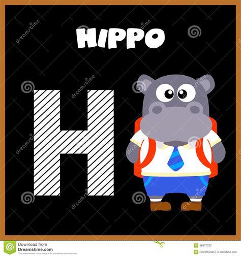 imagenes en ingles con la letra h la letra h de alfabeto ingl 233 s ilustraci 243 n del vector