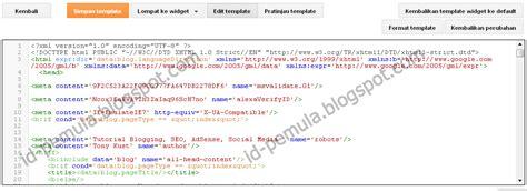 blogger id tilan terbaru edit html blogger id pemula blogspot