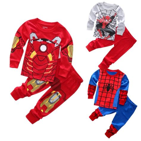 New Arrival Fashion Dollin 158 Free Gantungan 2016 new arrival baby boys 2 pecs set spider iron nightwear sleepwear pajamas