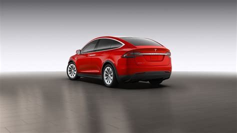 Tesla Configurator Image Tesla Model X Shown On Configurator Image Via