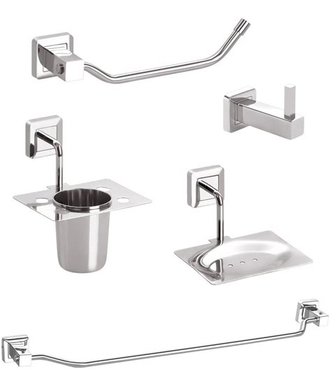 Buy Doyours Glossy Stainless Steel Bathroom Accessories Stainless Steel Bathroom Accessories Sets