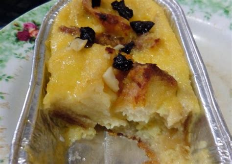 resep membuat roti tawar panggang resep puding roti tawar panggang oleh ismi sabrina ayunani