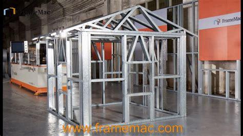 light gauge steel structures pdf light gauge steel frame house lgs structure machine youtube