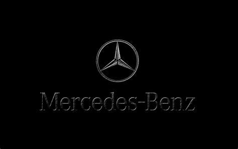 mercedes logo black background mercedes motorsport logo on black background 1920x1200