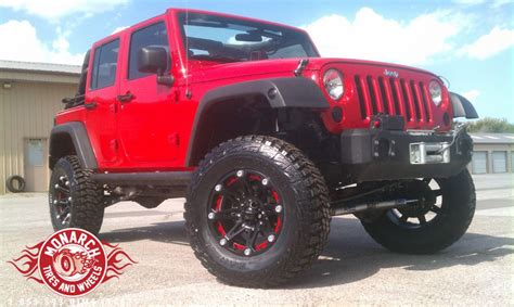 Jeep Wrangler Tires And Wheel Packages Jeep Wrangler With Ballistic Jester Wheels 2017 2018