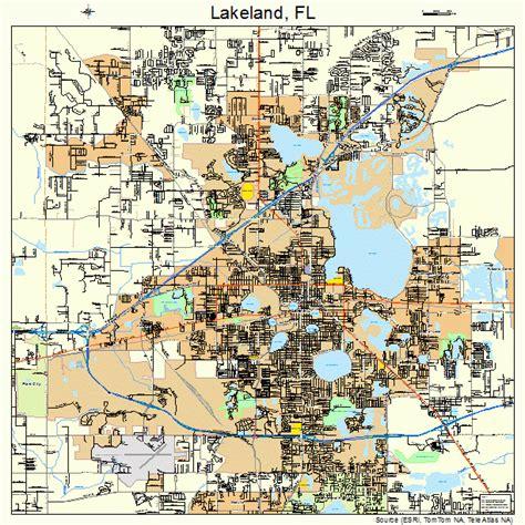 lakeland florida map lakeland florida map 1238250