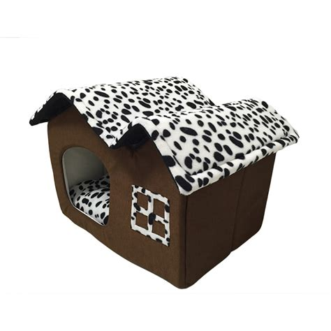 new dog in house new in 2017 super cute double roof dog or cat house