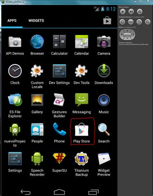 emulador android (avd) root, supersu y google play