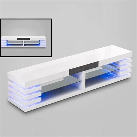 white tv stand with led lights choose flat screen tv stand with storage decorate room