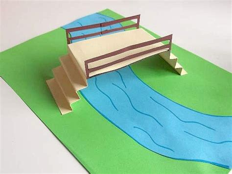 How To Make A Bridge Out Of Paper - pooh sticks for crafts
