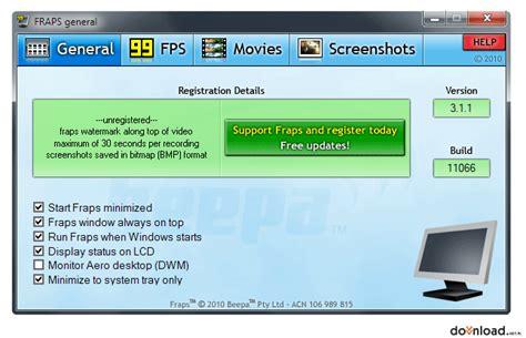 fraps old version full fraps 3 5 9 version 32 bit eng download