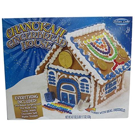 hanukkah gingerbread house kit chanukah hanukkah gingerbread house with dreidel and chocolate gelt kosher special