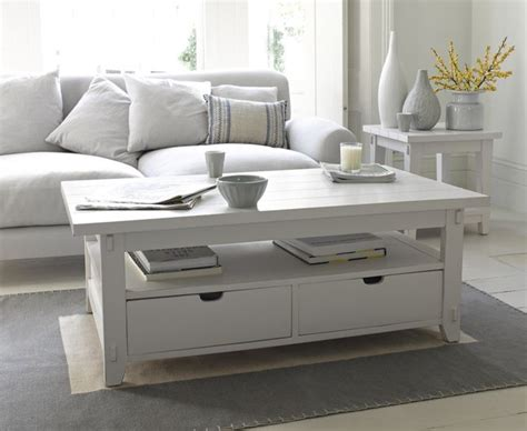 great white coffee table  inspired  clapboard