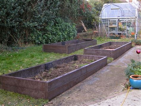 plastic raised garden beds recycled mixed plastic raised beds trade