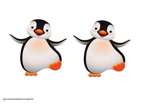 Petit Pingouin Dans Sa Banquise Collage Le Blog