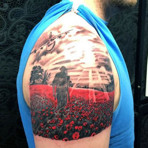 remembrance day tattoo designs 75 poppy designs for remembrance flower ink