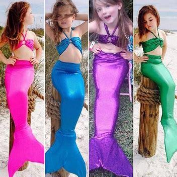 Pakaian Anak Putih Mermaid baju costume kostum mermaid anak kecil pakaian kedaionlinemy