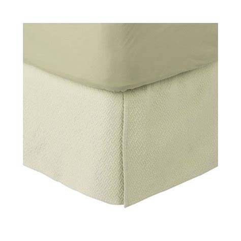 fieldcrest luxury matelasse coverlet fieldcrest luxury matelasse cream king bedskirt target