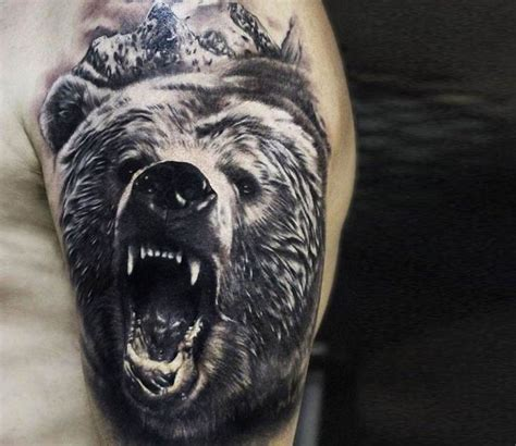 bear and wolf tattoo designs 39 best images about arm skull on