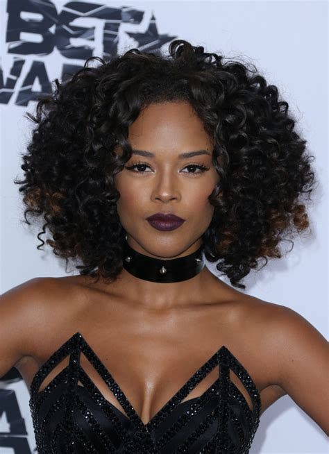 what kind of hair does tiana from empire have in serayah mcneill says women diss her straight hair bossip