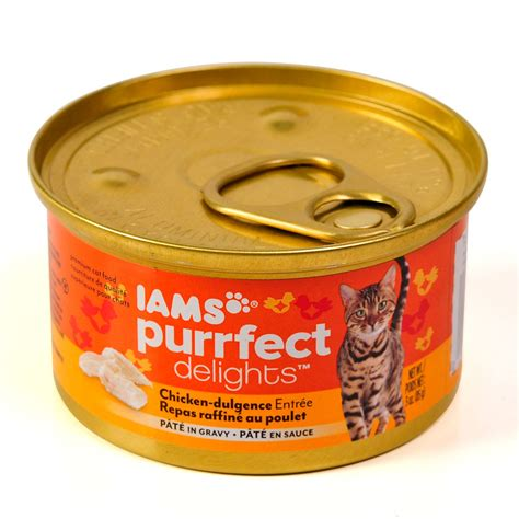 iams canned food iams purrfect delights pate canned adultt cat food petsolutions