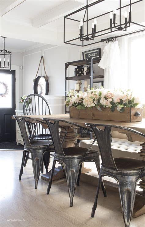 modern farmhouse dining room our current house tour modern farmhouse style in the suburbs