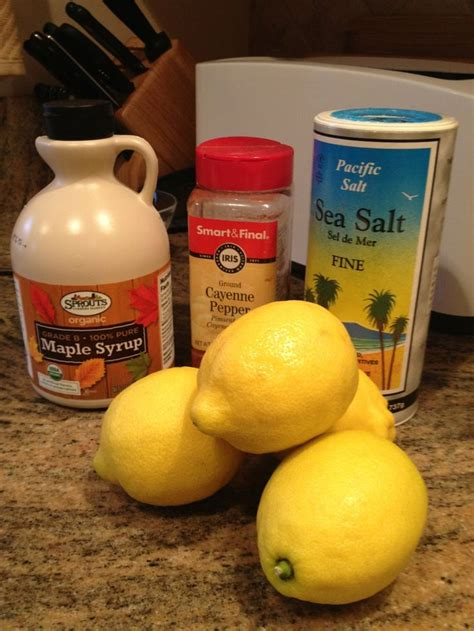 All Lemon Detox Diet by 31 Best Master Cleanse Images On Exercises