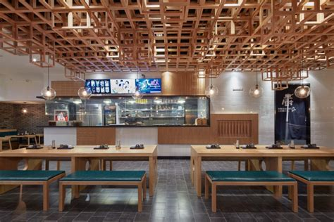 shanghai noodle house dacong s noodle house by the swimming pool studio shanghai china 187 retail