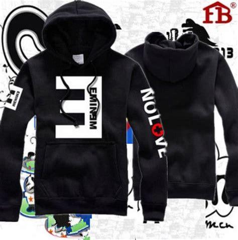 Hoodie Sweater Eminem Keren hip hop eminem no fleece thick hooded hoodie lil wayne hoody sweatshirt ebay