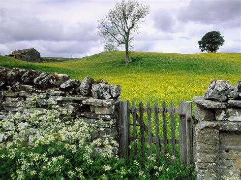 wallpapers for walls england swaledale valley yorkshire united kingdom picture