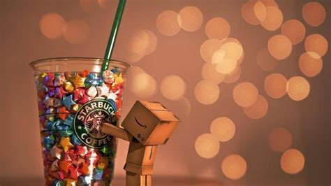 bokeh danboard starbucks wallpaper
