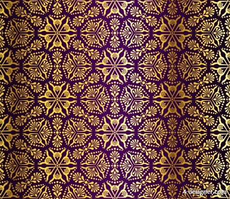pattern background fabric 4 designer vector gorgeous fabric pattern background