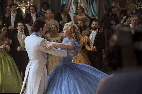 Gowns steal the show in new 'Cinderella' movie, actresses